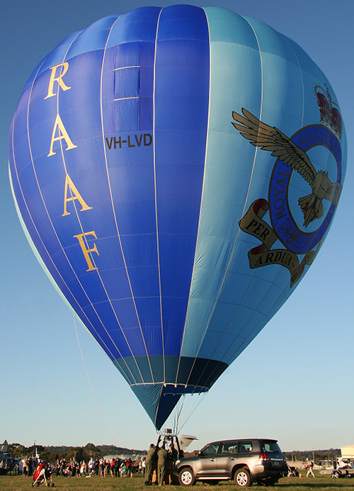VH-LVD RAAF Hot Air Balloon